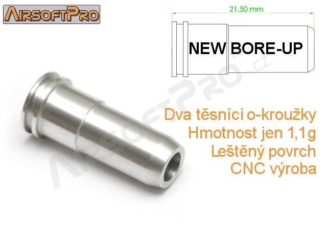21,5 mm NBU nozzle with double o-ring [AirsoftPro]