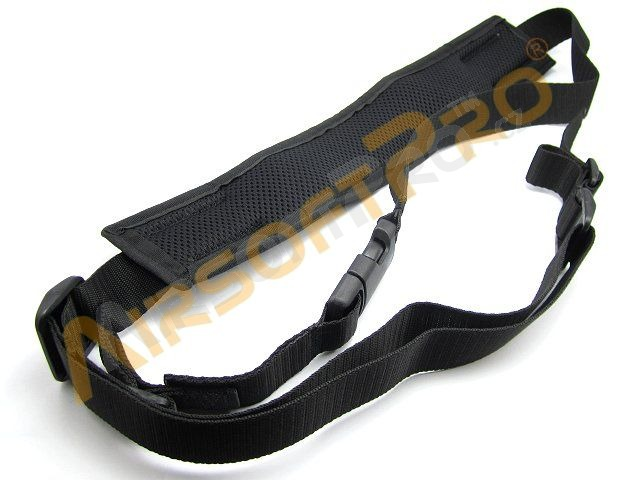Battle padded two point sling - black [AS-Tex]