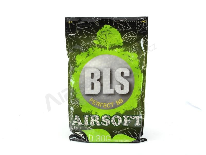 Airsoft BBs BLS BIO Perfect 0,30g 3300pcs - white [BLS]
