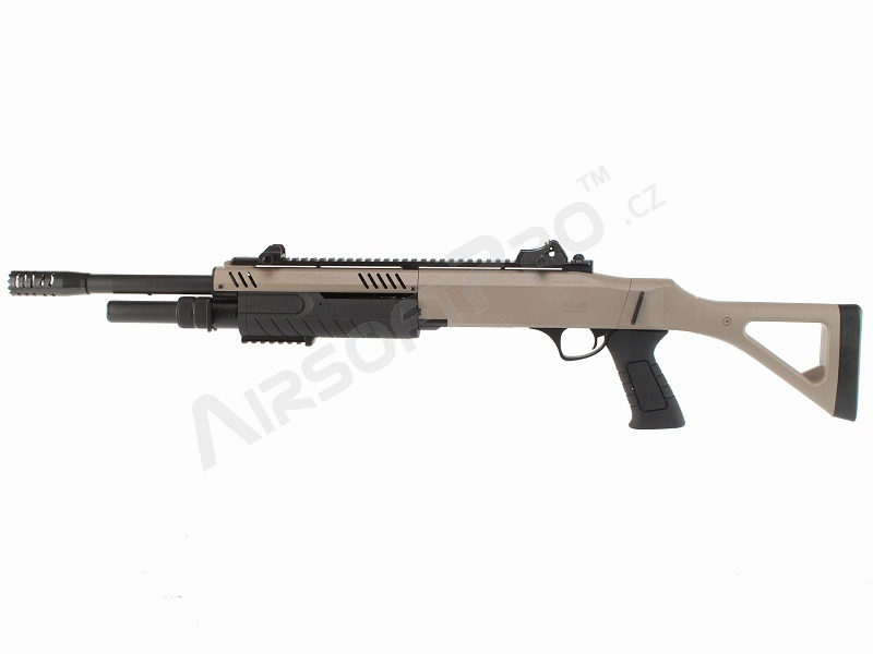 Airsoft brokovnice FABARM STF12 18'' - TAN [BO Manufacture]