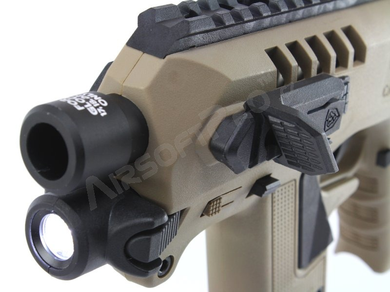 For Glock : Micro RONI Conversion Set with flashlight for