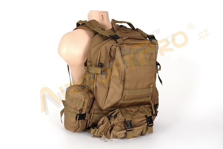45L Combat combine backpack bag - Coyote Brown (CB) [A.C.M.]
