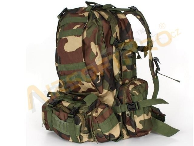45L Combat combine backpack bag - woodland [A.C.M.]