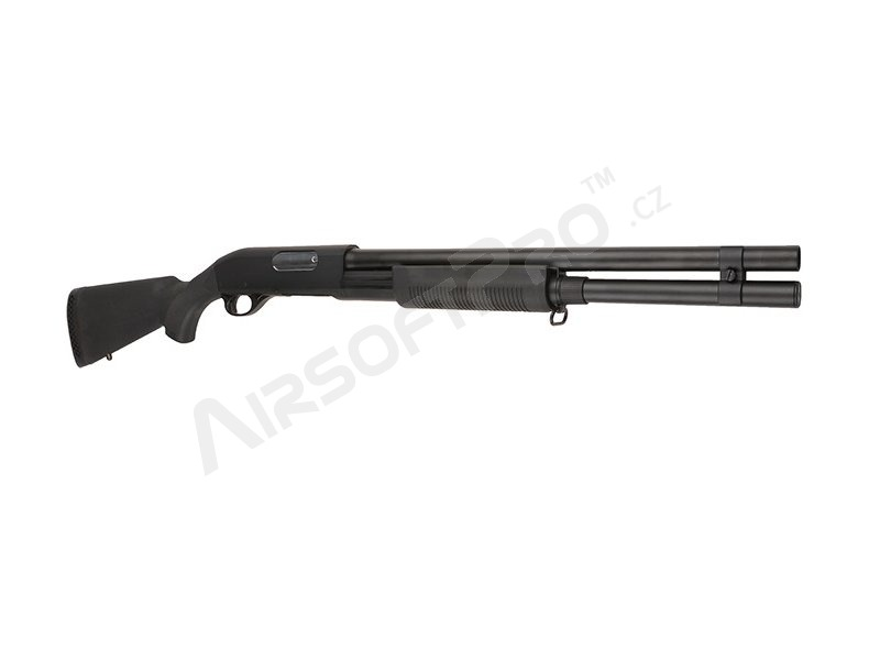 Airsoft shotgun M870 with the solid NYLON stock, long, METAL (CM.350LMN) [CYMA]