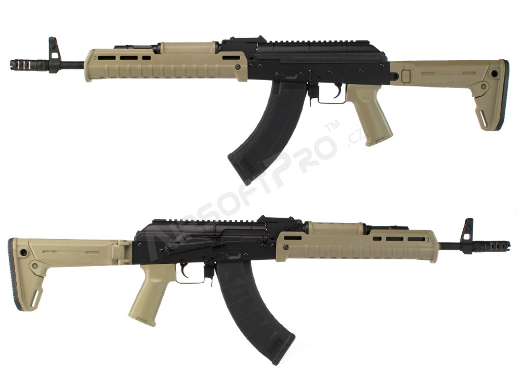 Airsoft rifle AKM MOE / ZHUKOV (CM.077A) - full metal - TAN [CYMA]