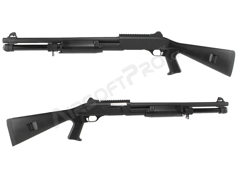 Airsoft shotgun M1014 with the solid ABS stock, long, METAL (CM.370M) [CYMA]