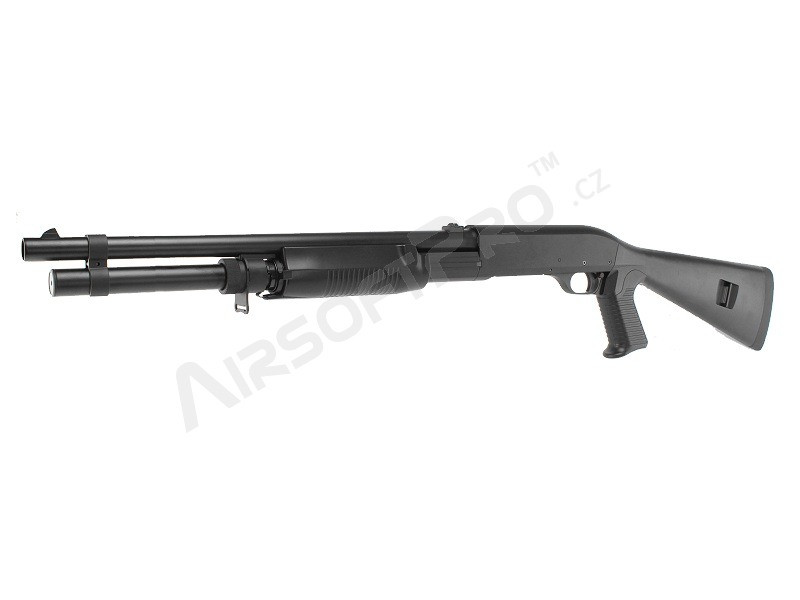 Airsoft shotgun M3 Super 90 with the solid ABS stock, long, METAL (CM.360LM) [CYMA]