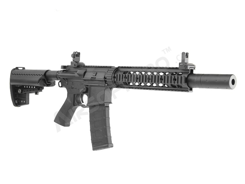 Airsoft rifle M4 CQB with the silencer, full metal (CM.070) [CYMA]