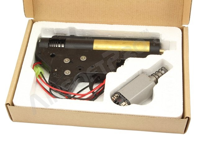 Complete gearbox V2 for M4/16 with M120 and motor - rear wiring [CYMA]