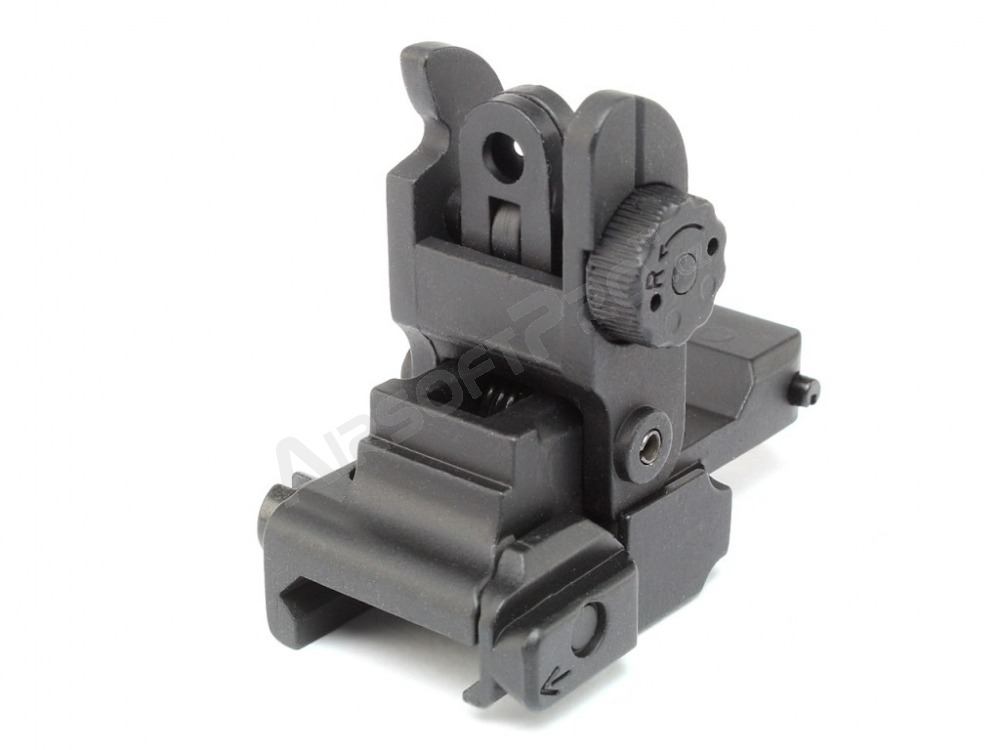 Rear folding sight for RIS rails [CYMA]
