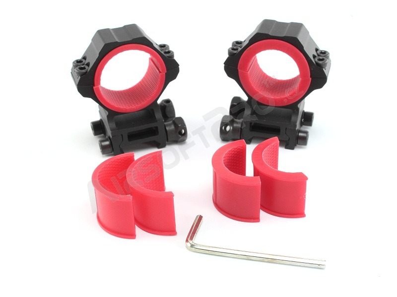 25,4/30mm rifle scope mount rings - HIGH [Discovery]