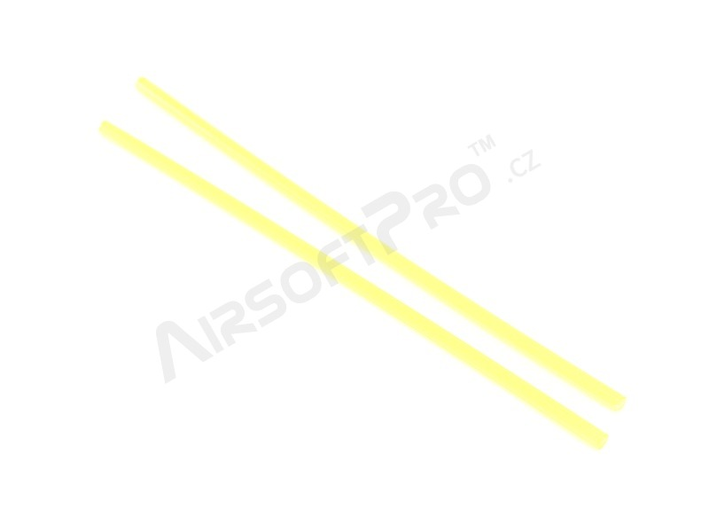 1.5 mm diameter fiber optic for sights - yellow [Dynamic Precision]