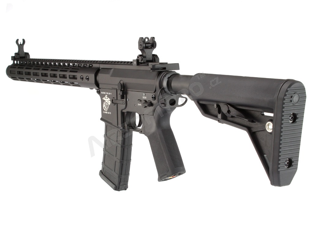 Airsoft rifle M4 NOVESKE M-LOK 15″ - black (EC-843) [E&C]