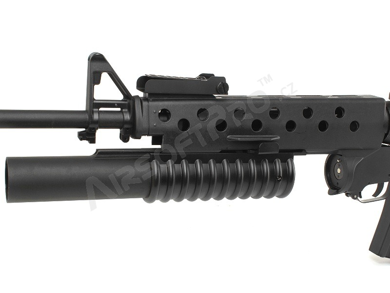 m4 m16 sr25 416 m16 a3 with m203 grenade launcher black ec 702