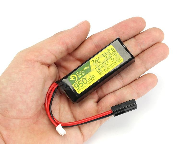 Battery Li-Po 7,4V 950mAh 25/50C [Electro River]