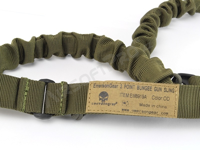 2-point bungee rifle sling - OD [EmersonGear]