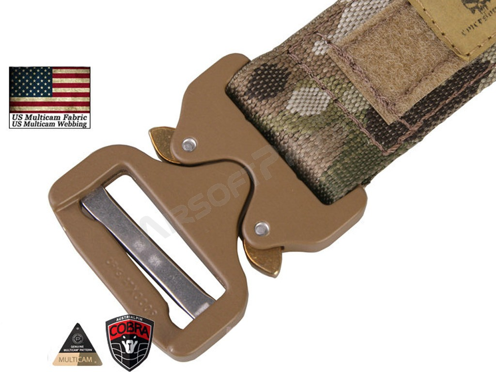 COBRA 1.5inch / 3.8cm One-pcs Combat Belt  - Khaki [EmersonGear]