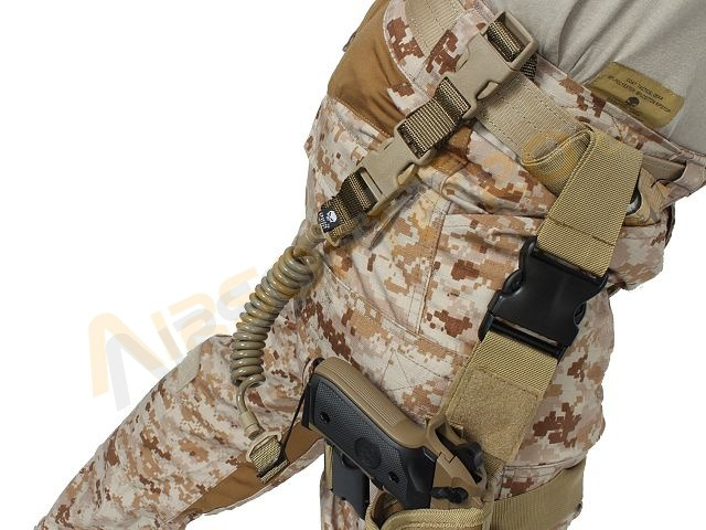 Elastic shortgun sling - TAN [EmersonGear]