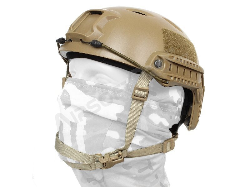 FAST Helmet - Base Jump type - DE colour, NEW MODEL [EmersonGear]