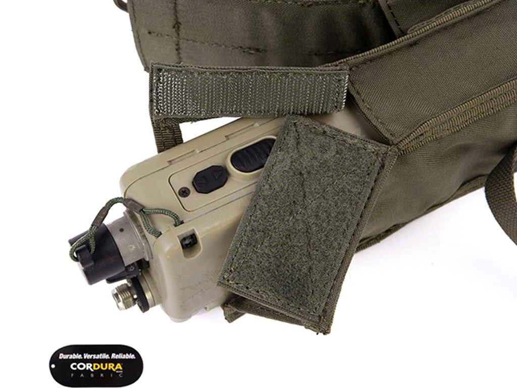 PRC148/152 Tactical Radio Pouch - Ranger Green (RG) [EmersonGear]