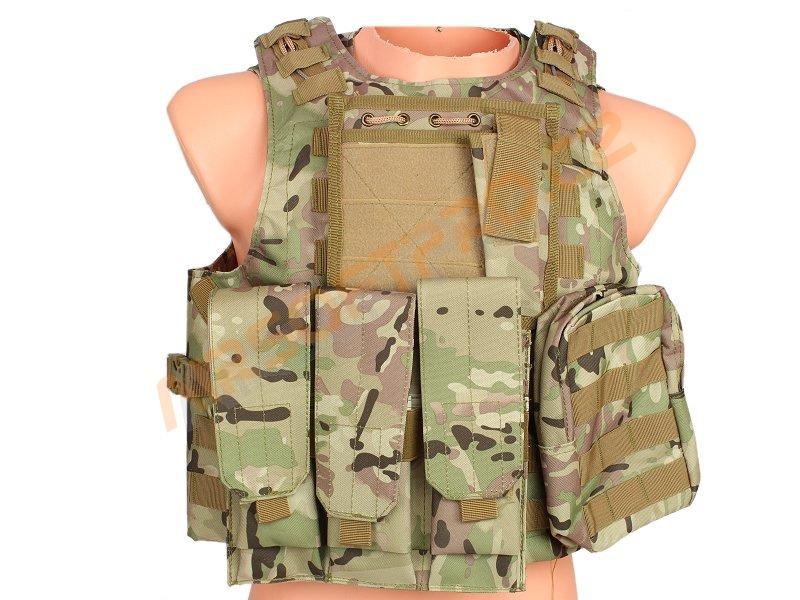 Taktická maskáčová vesta AAV FSBE - MC (CP)  A.C.M.  06a03363b0