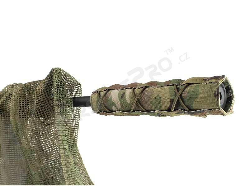 22cm Airsoft Suppressor Cover - Multicam [EmersonGear]