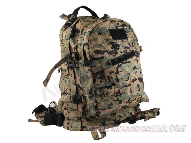 Backpack : 3-Day Molle Assault Backpack Bag, Nylon 1000D