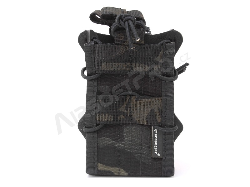 Double modular rifle magazine pouch - Multicam Black [EmersonGear]