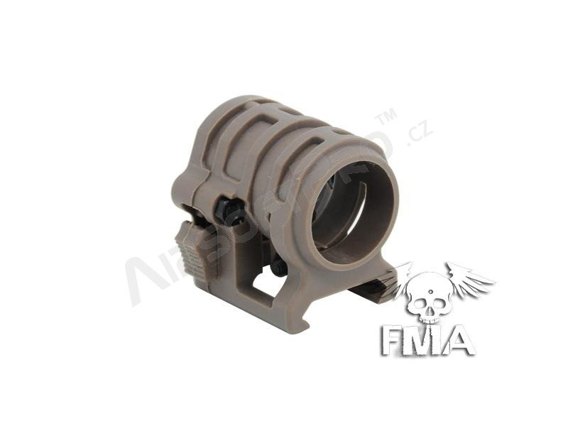 20mm flashlight mount - TAN [FMA]
