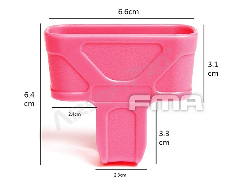 5.56 magazine rubber ″magpul″ for M4 - pink [FMA]