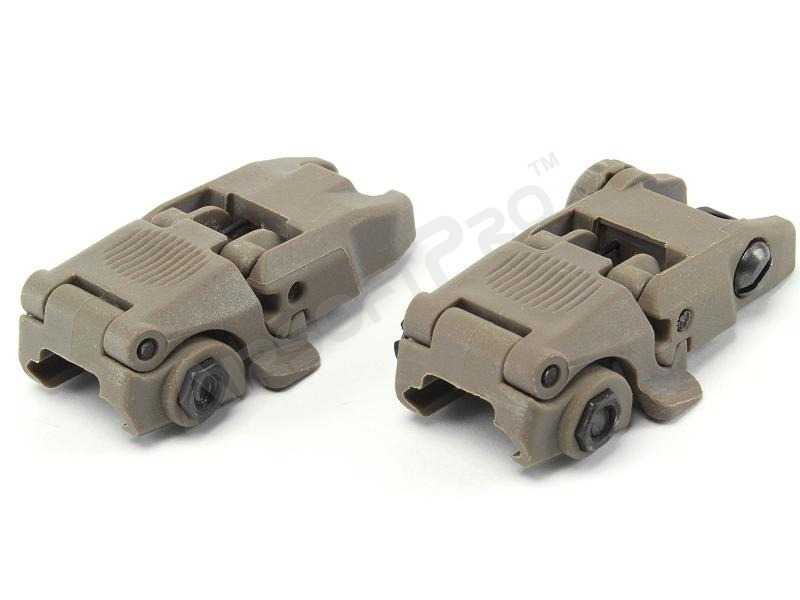 Mechanical FBUS RIS sights set GEN2 - DE [FMA]