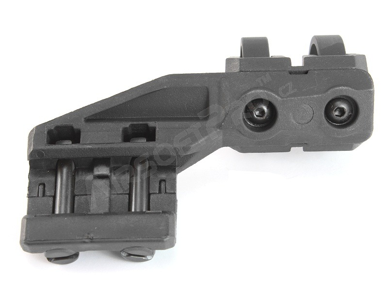 Polymer flashlight rail mount, LEFT side [FMA]