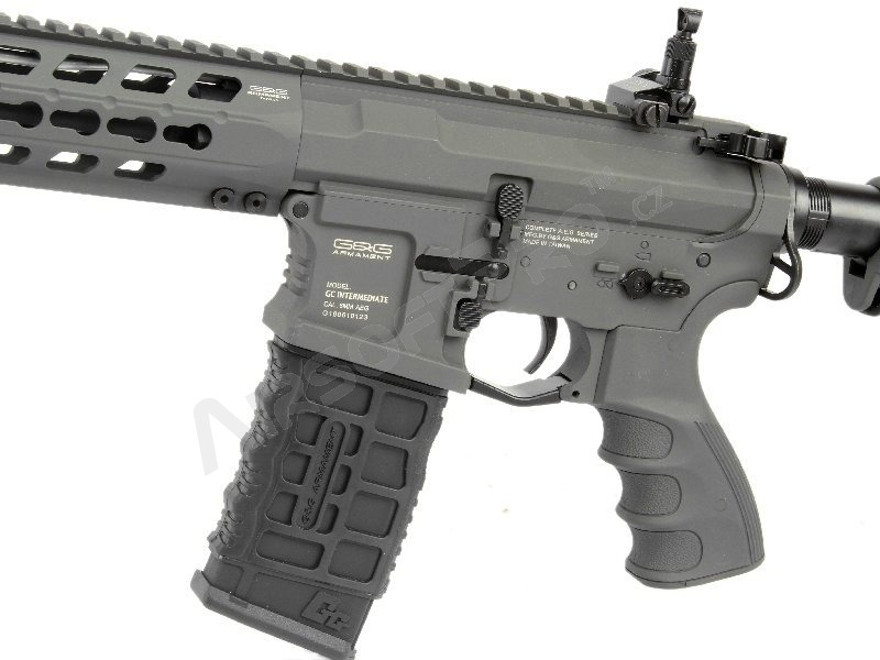 Airsoft rifle GC16 Predator Battleship Grey, Full metal, Electronic trigger [G&G]
