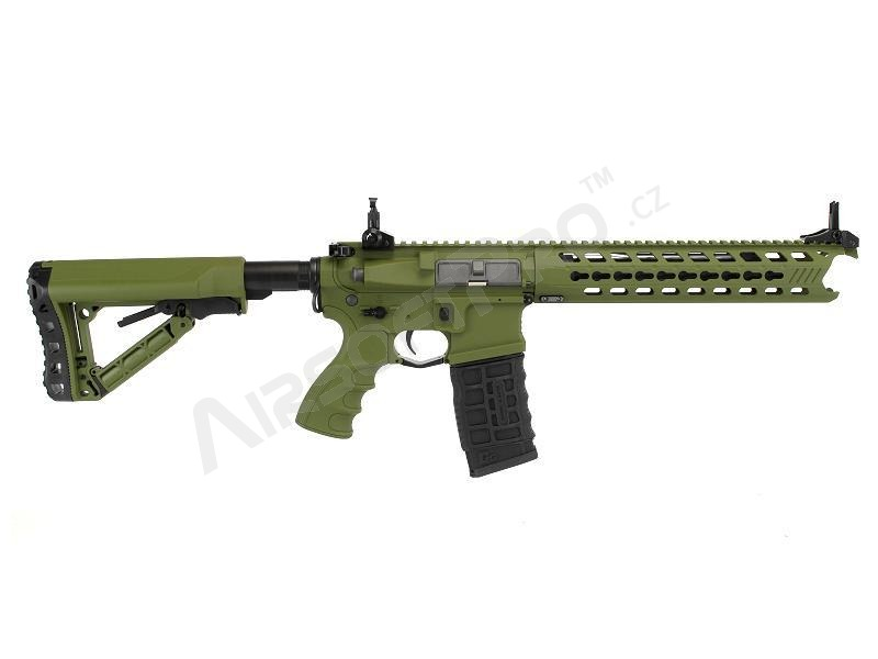 Airsoft rifle GC16 Predator Hunter Green, Full metal, Electronic trigger [G&G]