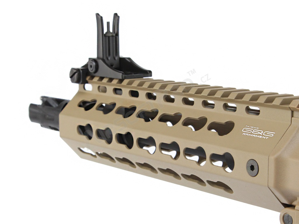 Airsoft rifle CM16 SRS, Sportline, desert TAN, Electronic trigger [G&G]