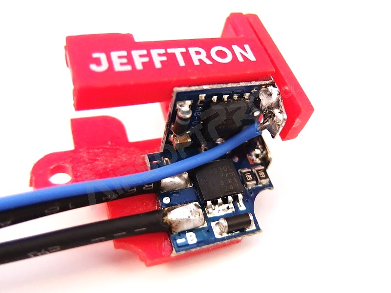 Active brake for V2 gearbox - wiring to stock [JeffTron]