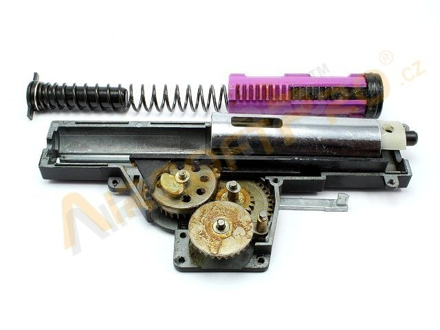 Complete upgrade gearbox V6 for P90 with M120 [JG]