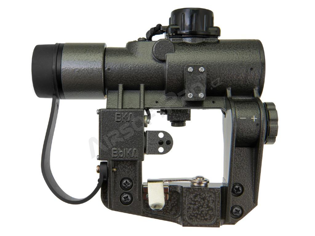 Scopes Kobra Pk A Red Dot Sight With Sks Svd Side Rail Mount Airsoftpro Cz
