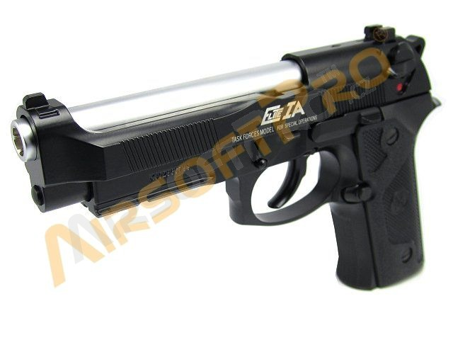 Airsoftová pistole M9 A1 Elite IA - celokov, blowback - CO2 [KJ Works]