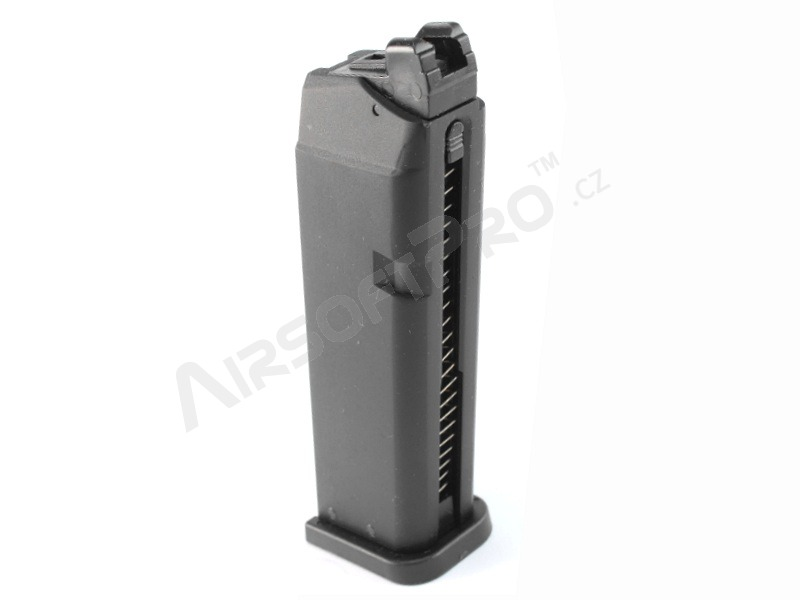 Glock and similar mags : 22 rounds gas magazine for KJ Works