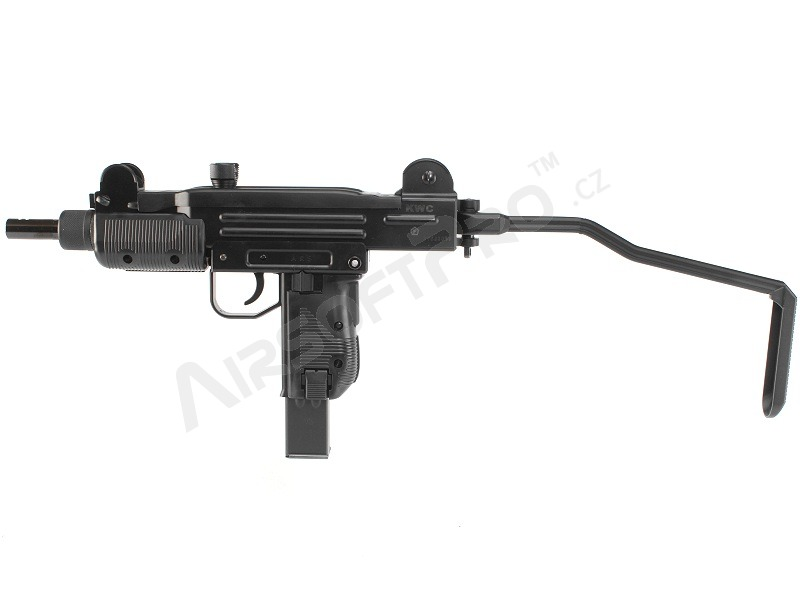 Other gas guns : Airsoft submachine gun Mini UZI, CO2 Blowback - black