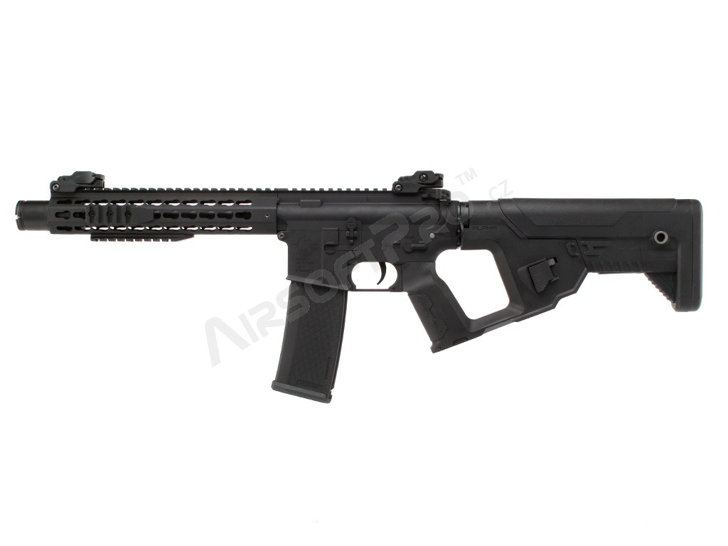 Alpha stock for M4 AEG - black [Lancer Tactical]