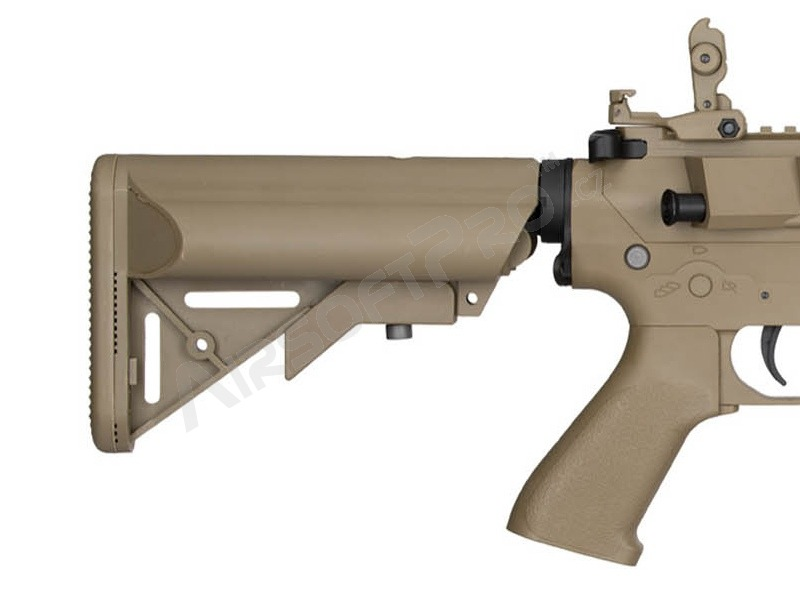 Airsoft rifle M4 M4 SPR INTERCEPTOR Sportline (LT-25 Gen.2) - TAN [Lancer Tactical]