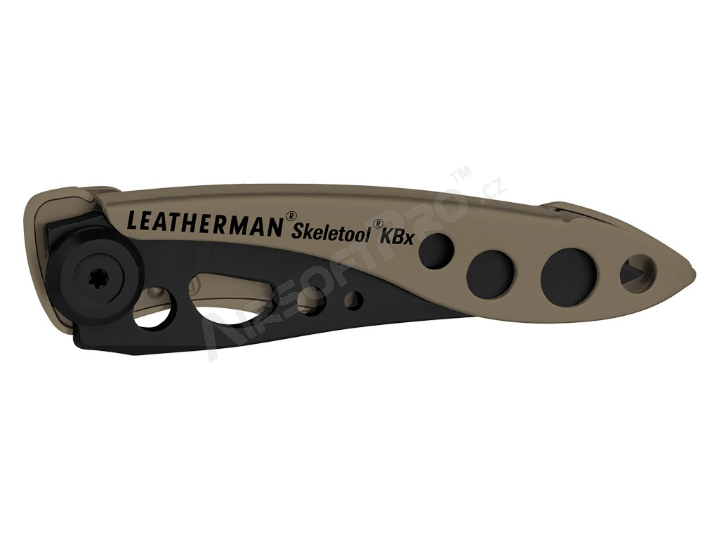 Kapesní nůž SKELETOOL® KBx - Coyote TAN [Leatherman]