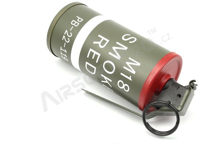 Other grenades : Dummy M18 Smoke Grenade - red