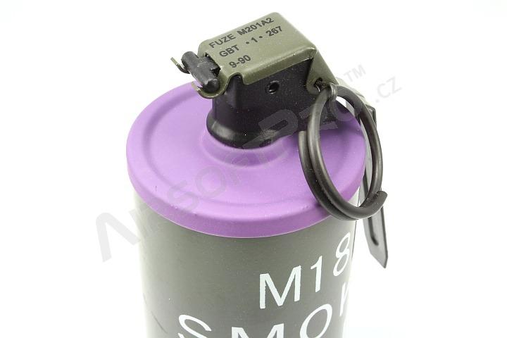 Other grenades : Dummy M18 Smoke Grenade - purple