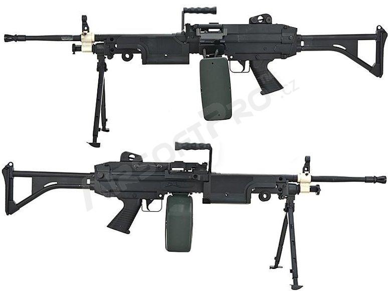 M249, M60, PKM : M249 FN Minimi machine gun