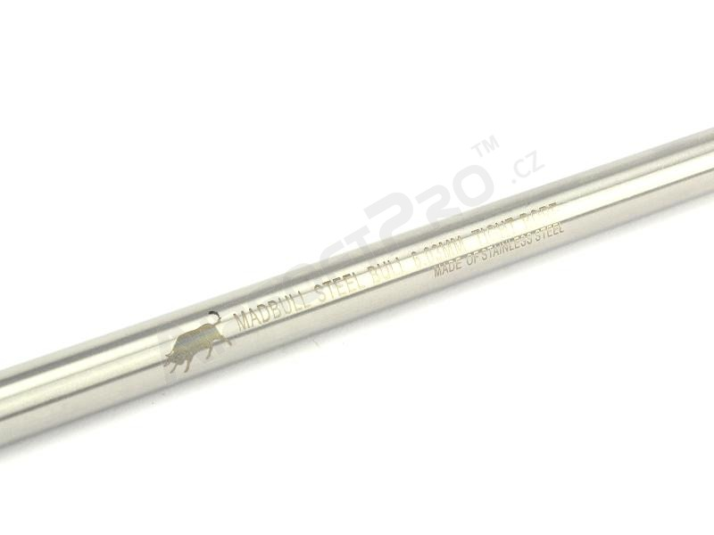 Stainless Steel Bull tightbore barrel 6.03 mm - 229 mm [MadBull]