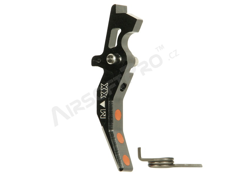 CNC Aluminum Advanced Trigger (Style C) for M4 - black [MAXX Model]