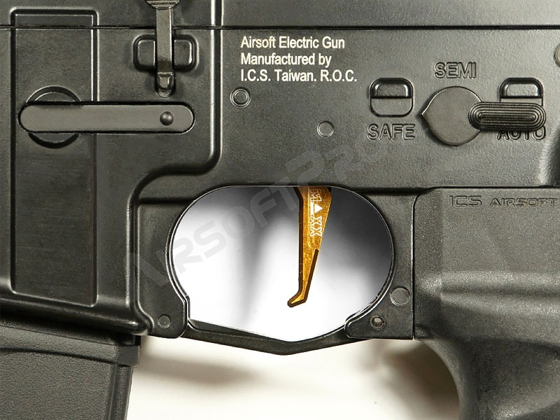 CNC Aluminum Advanced Trigger (Style E) for M4 - dark earth [MAXX Model]